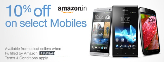 Attractive Mobiles Discounts on amazon.in